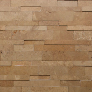 Mocha Travertine Cubic Ledgestone