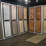 Large Sample Boards in the Stone Source - Tile Source International Showroom