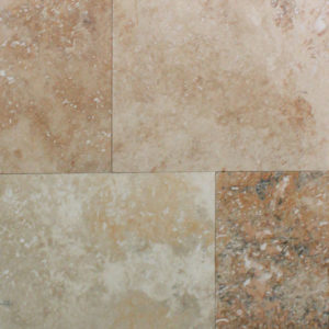 Rustic Ivory Honed Travertine