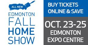 Edmonton Fall Home Show Buy Tickets Online Oct 23 25 Edmonton Expo Centre Sale Tile Stone