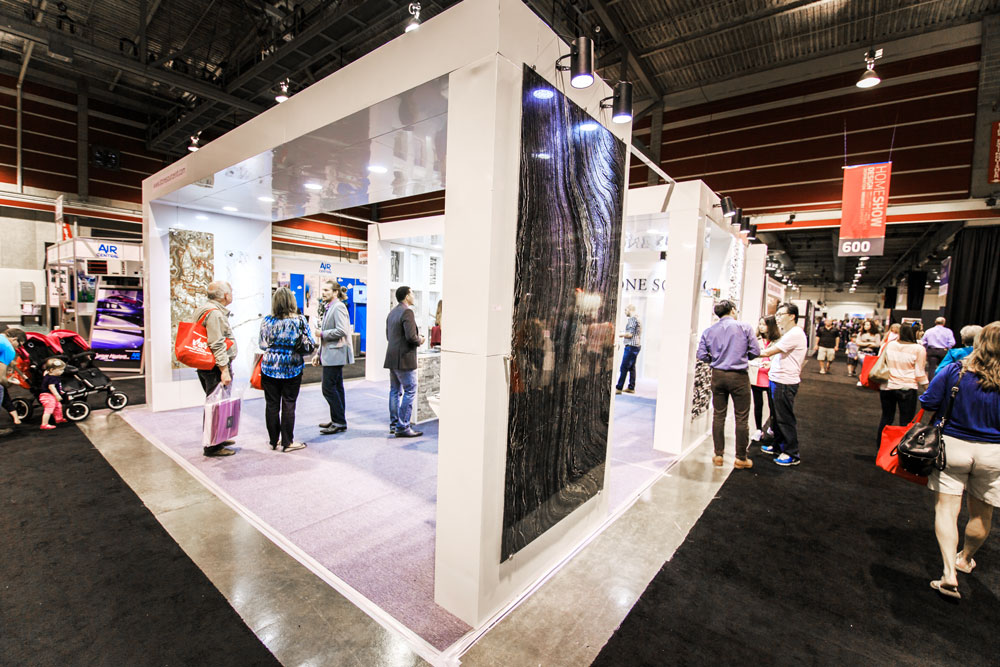 Bolder Stone Panel + Booth at the Calgary Home + Design Show