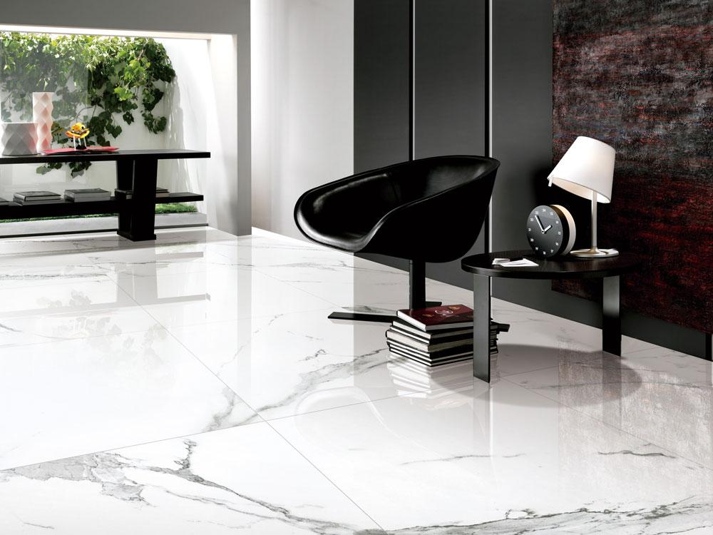 Marble Imitation Statuario 24x48 Polished Sale Tile