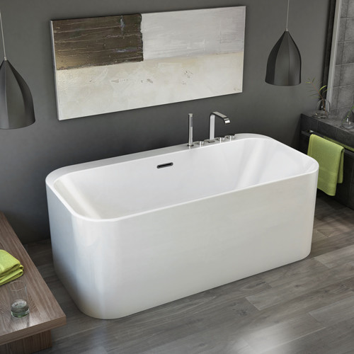 Fleurco aria celesta freestanding tub sale tile stone for Free standing bathtubs for sale