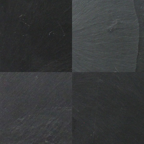 Jet Black 12x12 Slate Sale Tile And Stone Source