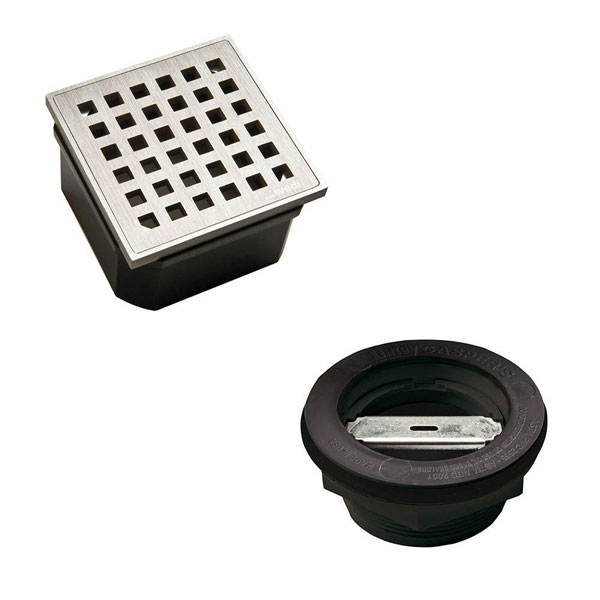 Wedi fundo replacement kit drain standard sale tile - Wedi fundo shower pan ...