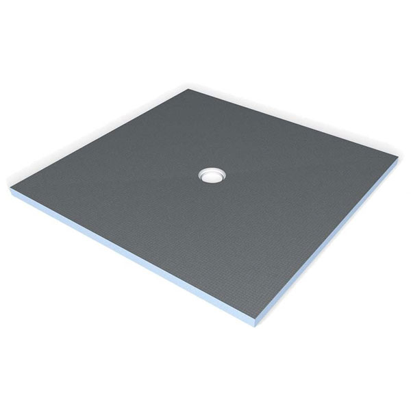 Wedi fundo primo 3 39 x3 39 base only centre drain sale - Wedi fundo shower pan ...