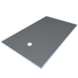Wedi Primo Shower Base with Offset Drain