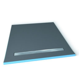 Wedi fundo riolito 32 x 72 2 sided single slope sale - Wedi fundo shower pan ...