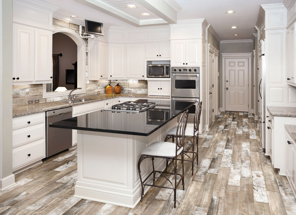 Muskoka Saddle Tiles Ash Smoke Matte Tiles Calgary