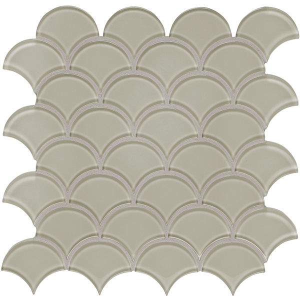 Element Earth Scallop Glossy Sale Tile Stone Source