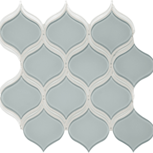 Element Cloud Arabesque Glass Tile Mosaic