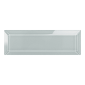 Element Cloud Beveled Glass Subway Tile