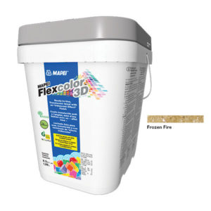 Mapei Flexcolor 3D Frozen Fire Grout