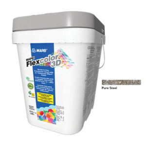 Mapei Flexcolor 3D Pure Steel Grout