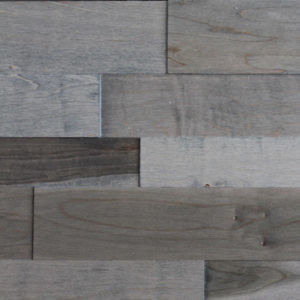 Evolution Szary Wood Wall Panels